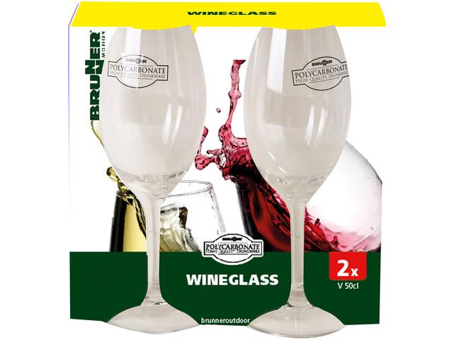 Brunner Cuvée Set di bicchieri da vino, trasparente